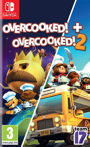Overcooked! + Overcooked! 2 Double Pack (Switch) - GameShop Malaysia