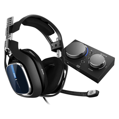 Astro A40 TR Wired Headset + MixAmp Pro TR with Dolby Audio for PS4, PC and Mac