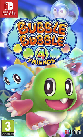 Bubble Bobble 4 Friends (Switch) - GameShop Malaysia