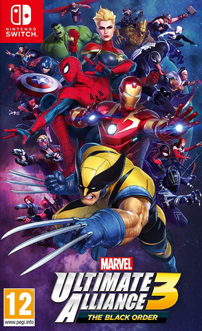 Marvel Ultimate Alliance 3: The Black Order (Switch) - GameShop Malaysia