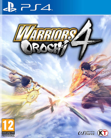 Warriors Orochi 4 (PS4) - GameShop Malaysia