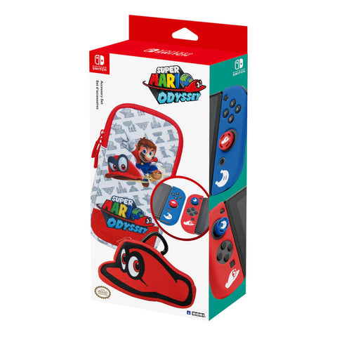 Hori Starter Kit Super Mario Odyssey Edition for Switch
