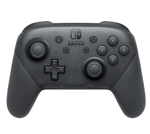 Nintendo Switch Pro Controller Black - GameShop Malaysia