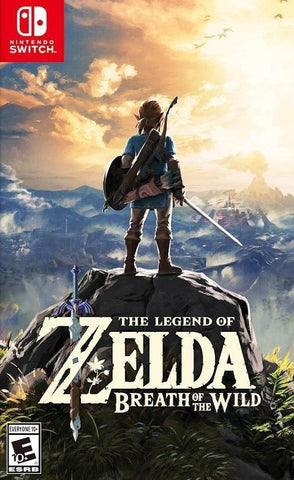 The Legend of Zelda: Breath of the Wild (Nintendo Switch) - GameShop Malaysia
