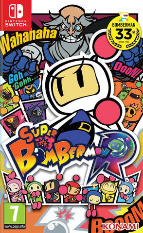 Super Bomberman R (Nintendo Switch) - GameShop Malaysia