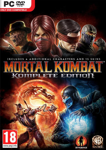 Mortal Kombat Komplete Edition (PC) - GameShop Malaysia