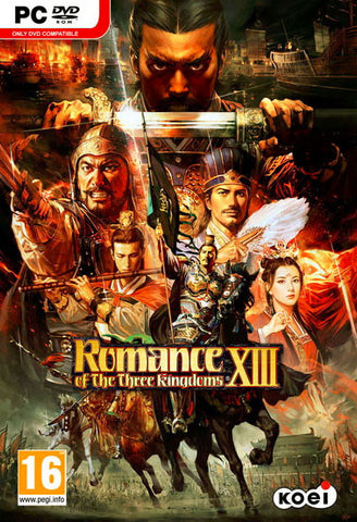 Romance of the Three Kingdoms 13 (PC) - GameShop Malaysia