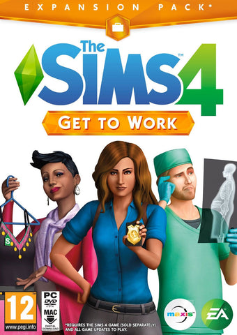 The Sims 4 Get to Work Expansion Pack (PC)