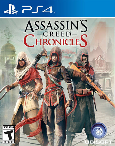 Assassin's Creed Chronicles (PS4) - GameShop Malaysia
