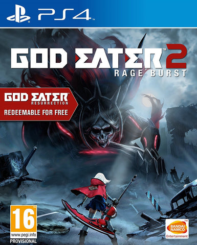 God Eater 2: Rage Burst (PS4)