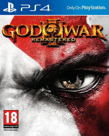 God of War 3: Remastered (PS4) - GameShop Malaysia