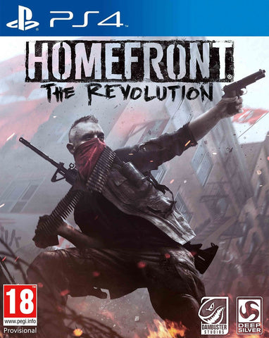 Homefront: The Revolution (PS4) - GameShop Malaysia