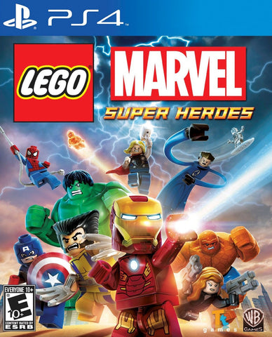 Lego Marvel Super Heroes (PS4) - GameShop Malaysia