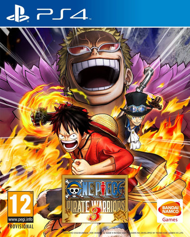 One Piece Pirate Warriors 3 (PS4) - GameShop Malaysia
