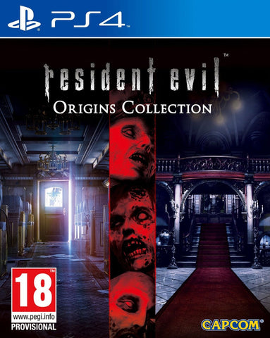 Resident Evil Origins Collection (PS4) - GameShop Malaysia