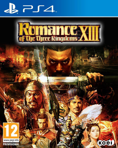 Romance of the Three Kingdoms XIII (PS4) - GameShop Malaysia