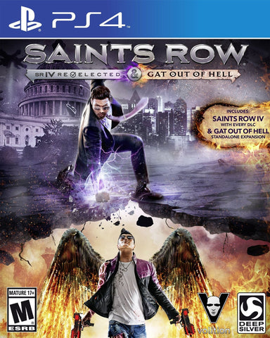 Saints Row IV: Re-Elected + Gat out of Hell (PS4) - GameShop Malaysia
