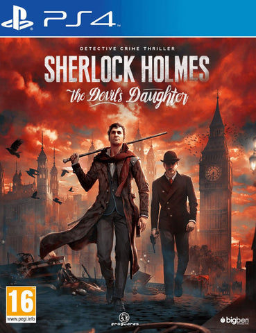 Sherlock Holmes: The Devil's Daughter (PS4) - GameShop Malaysia