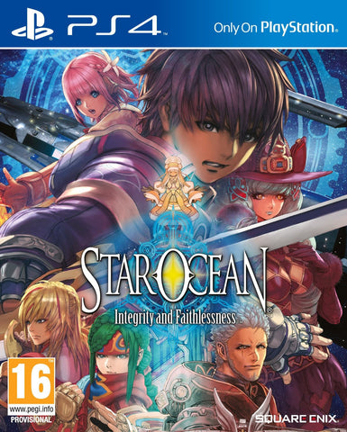 Star Ocean: Integrity and Faithlessness (PS4) - GameShop Malaysia