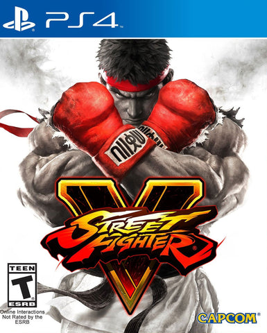 Street Fighter V (PS4) - GameShop Malaysia