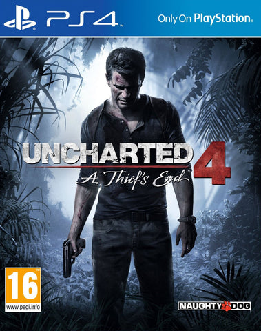 Uncharted 4: A Thief's End (PS4) - GameShop Malaysia