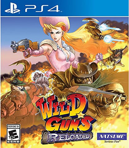 Wild Guns: Reloaded (PS4) - GameShop Malaysia