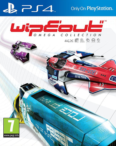 Wipeout: Omega Collection (PS4) - GameShop Malaysia