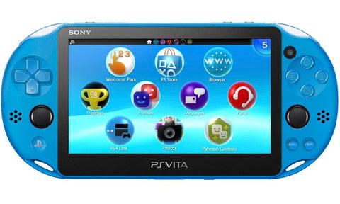 Sony PlayStation Vita Slim Console 2006 Aqua Blue - GameShop Malaysia