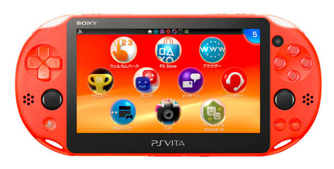 Sony PlayStation Vita Slim Console 2006 Neon Orange