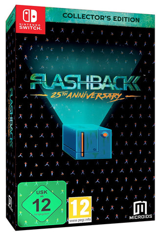 Flashback 25th Anniversary Collector's Edition (Switch) - GameShop Malaysia