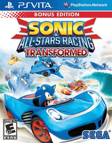 Sonic & All-Stars Racing Transformed (PS Vita) - GameShop Malaysia