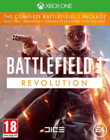 Battlefield 1 Revolution (Xbox One) - GameShop Malaysia