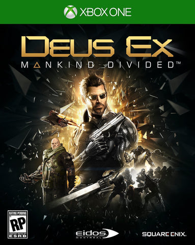 Deus Ex: Mankind Divided (Xbox One) - GameShop Malaysia