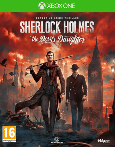 Sherlock Holmes: The Devil's Daughter (Xbox One) - GameShop Malaysia