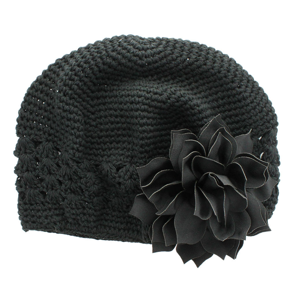 b675ae38a5d ... Black Black Girls Kufi Crochet Beanie Hat