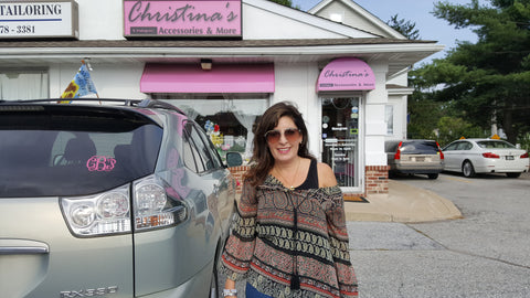 Christina's Can Now Monogram Your Car!