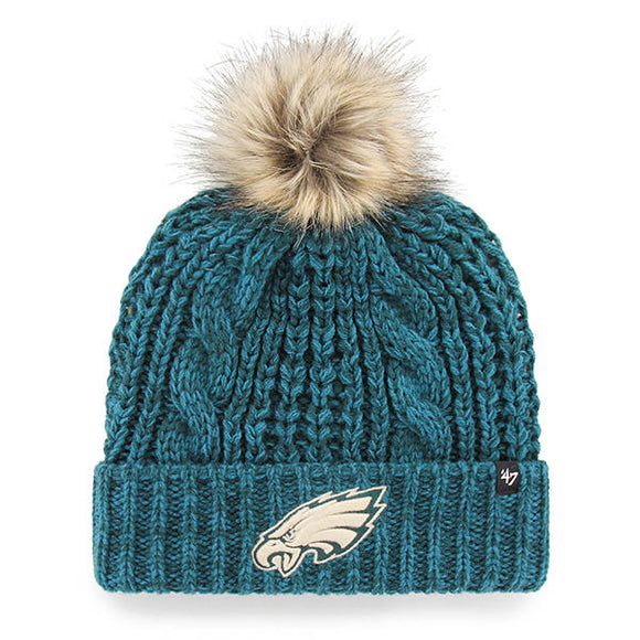 Philadelphia Eagles Meeko Pom Hat in Green
