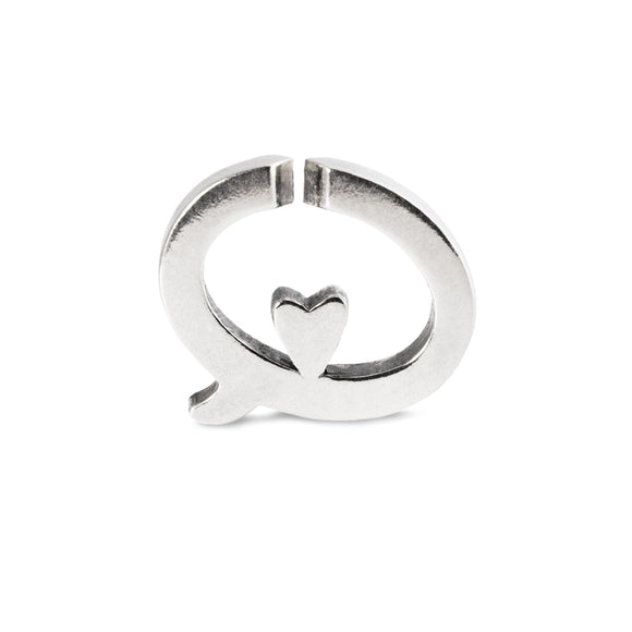 X By Trollbeads Love Bubble Single Link Silver