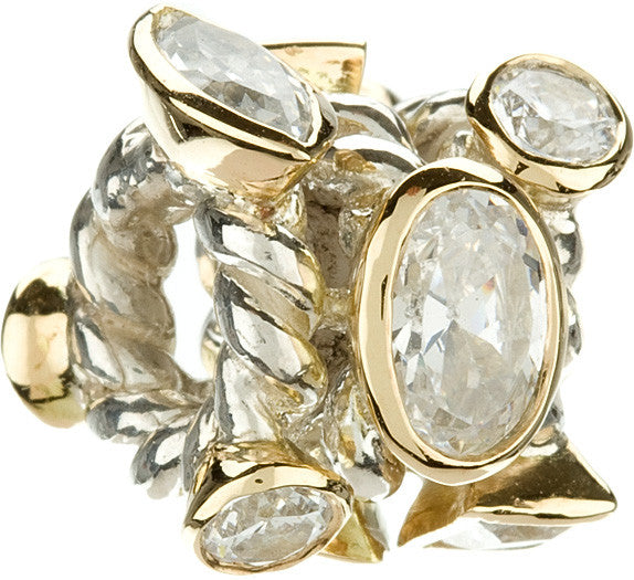 Chamilia Marquis Mixed Clear CZ and Gold