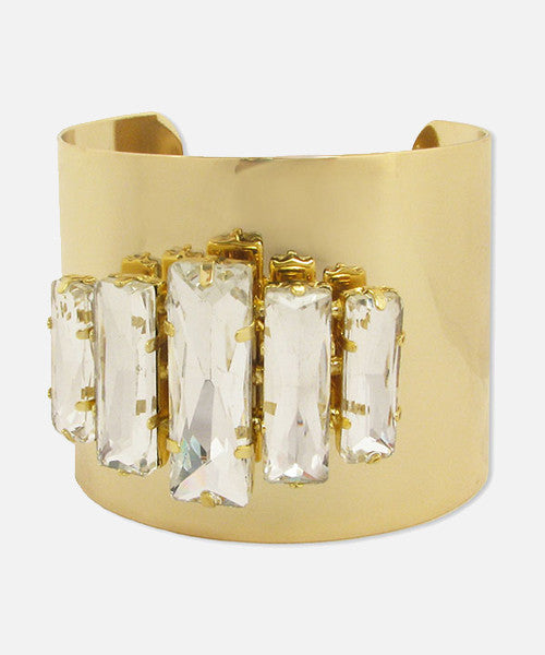 Lindsay Phillips Chloe Interchangeable Gold Cuff Bracelet