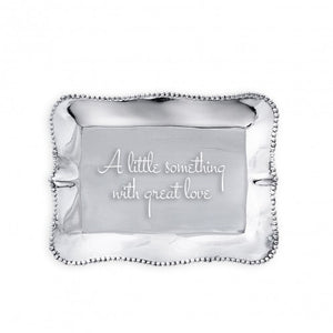 "Beatriz Ball Pearl Tray ""A Little Something with Great Love"""