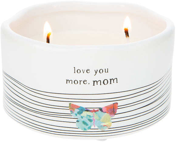 Mom - Soy Wax Candle 8oz Scent: Tranquility