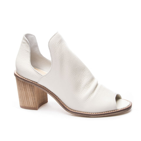 Chinese Laundry Carlita Peep Toe Bootie While