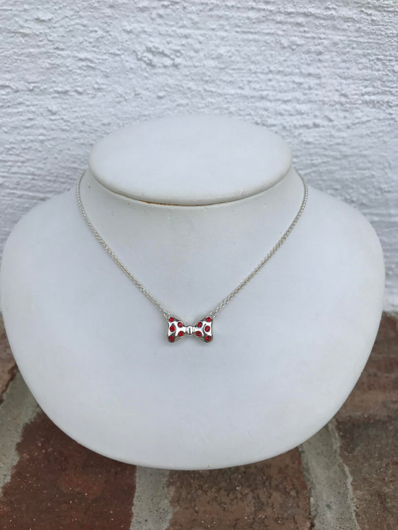 Chamilia Disney Minnie Bowtie Necklace