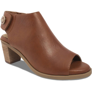 Lindsay Phillips Ansley Tan Open Toe Bootie