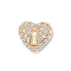 Lori Bonn Heart of Gold Slide Charm