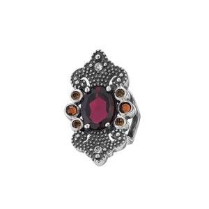 Lori Bonn Red My Lips Slide Charm