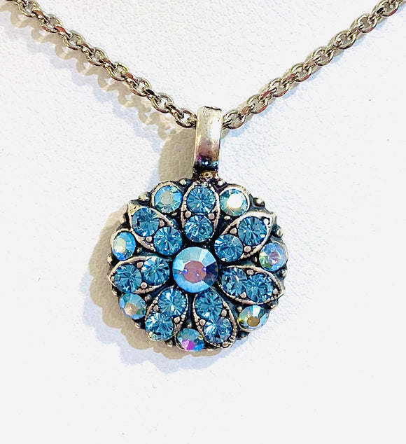 Mariana Guardian Angel Necklace Sky Blue