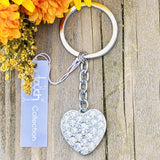 Philadelphia Phillies Crystal Heart Keyring