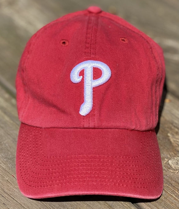 Philadelphia Phillies Red Clean Up Baseball Hat by '47 Brand